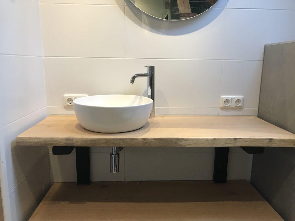 Badkamer Waskommen sanitair tegelwerk - Home Repair - Timmerwerk en onderhoud 02