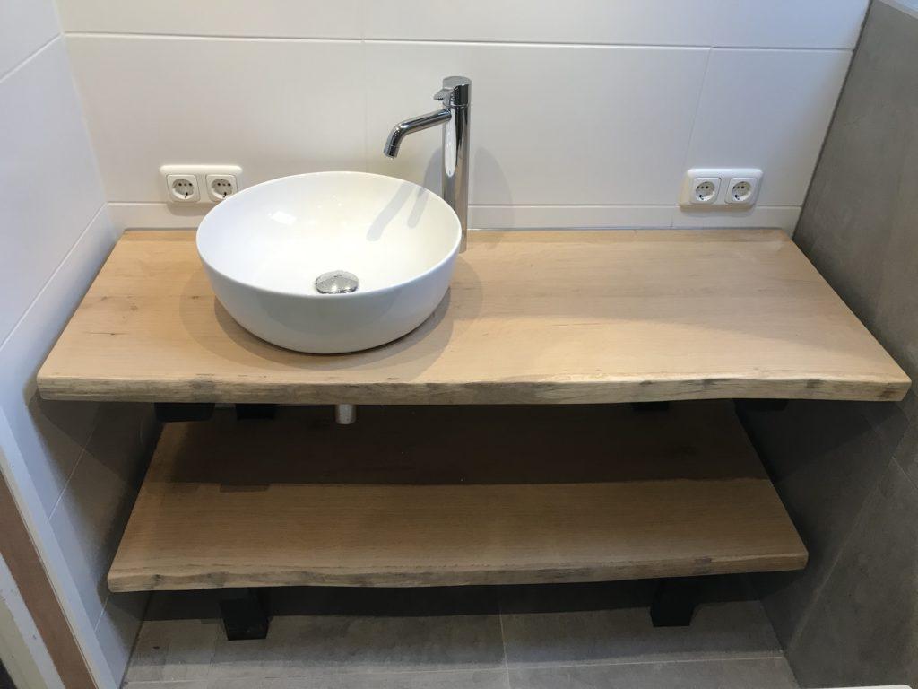 Badkamer Waskommen sanitair tegelwerk - Home Repair - Timmerwerk en onderhoud 04