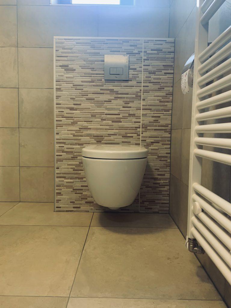 Hangtoilet sanitair tegelwerk - Home Repair - Timmerwerk en onderhoud 03